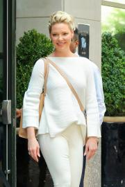 Katherine Heigl - Leaving Her Hotel in New York (7/14/18)