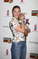 Melissa Benoist -                       20th Annual Broadway Barks Animal Adoption Event New York City July 14th 2018.