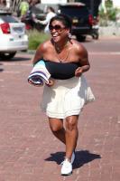 Nia Long playing ball in a parking lot in Malibu 07/16/201875805826_75768206_nia-long_16072018p_13