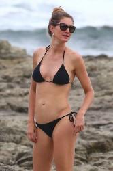 Gisele Bundchen - Bikini candids in Costa Rica 7/17/18