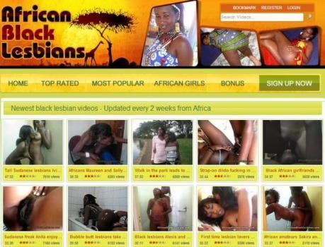 AfricanBlackLesbians - SiteRip