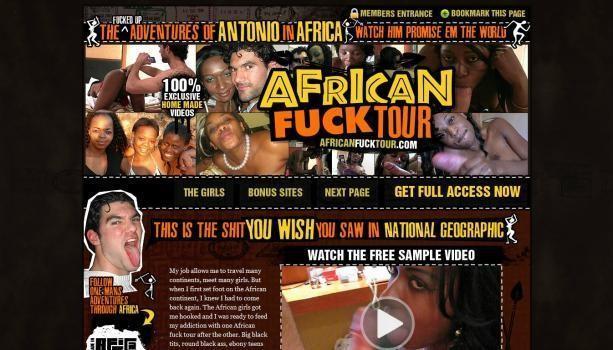 AfricanFuckTour – SiteRip