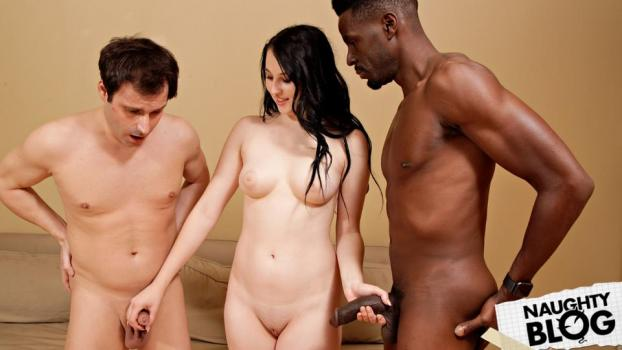 Cum Eating Cuck Olds - Kinsley Anne Loves Black Cock (2018/HD) [OPENLOAD]