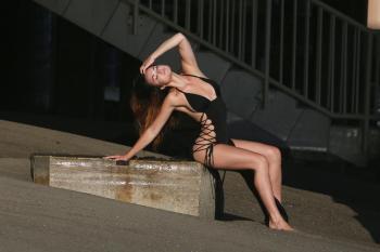 Kaili Thorne on the set of a 138 Water photoshoot in Malibu 7/30/1866qrkaqc0v.jpg