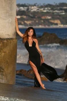 Kaili Thorne on the set of a 138 Water photoshoot in Malibu 7/30/18t6qrkbd7r0.jpg