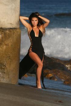 Kaili Thorne on the set of a 138 Water photoshoot in Malibu 7/30/1856qrkb0g1k.jpg
