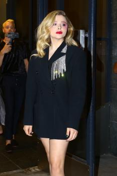 Chloë Grace Moretz at Maialino in NYC 7/30/18