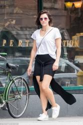 Katharine McPhee - Shopping in NYC 7/30/18