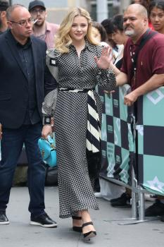 Chloë Grace Moretz at AOL Build in NYC 8/2/18