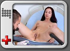 Violetta Gyno Exam
