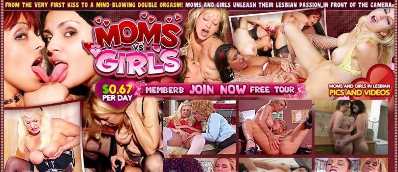 MomsVsGirls (SiteRip) Image Cover